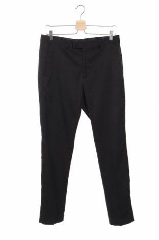 Pantaloni de bărbați Mango, Mărime M, Culoare Negru, 97% poliester, 3% elastan, Preț 116,45 Lei
