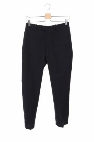 Pantaloni de bărbați Mango, Mărime XS, Culoare Albastru, Lână, Preț 155,92 Lei