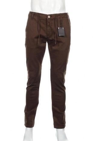 Ανδρικό παντελόνι Massimo Dutti, Μέγεθος L, Χρώμα Καφέ, 98% βαμβάκι, 2% ελαστάνη, Τιμή 75,74€