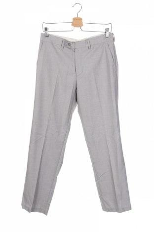 Ανδρικό παντελόνι P.O. Box, Μέγεθος M, Χρώμα Γκρί, 65% πολυεστέρας, 35% βισκόζη, Τιμή 1,75€