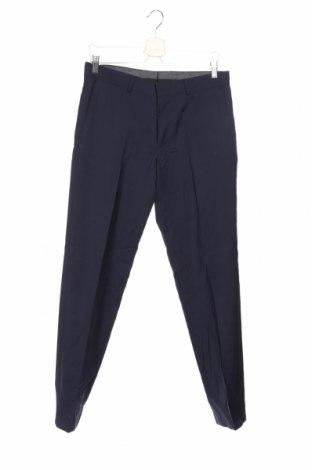 Ανδρικό παντελόνι S.Oliver, Μέγεθος M, Χρώμα Μπλέ, 100% μαλλί, Τιμή 33,03€