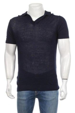 Ανδρικό πουλόβερ Mango, Μέγεθος S, Χρώμα Μπλέ, Βαμβάκι, Τιμή 17,07€