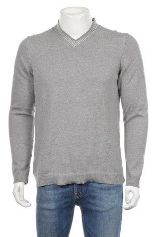 Ανδρικό πουλόβερ Mango, Μέγεθος M, Χρώμα Γκρί, Βαμβάκι, Τιμή 20,79€