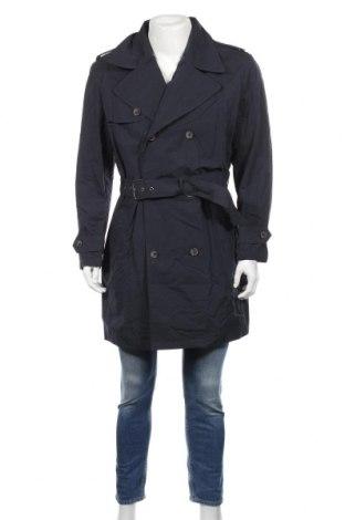 Pánský přechodný kabát  Mango, Rozměr L, Barva Modrá, Polyamide, Cena  959,00Kč