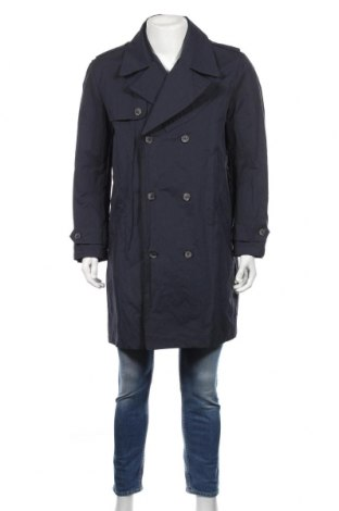 Pánský přechodný kabát  Mango, Rozměr L, Barva Modrá, Polyamide, Cena  1005,00Kč