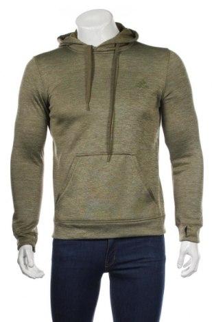 Ανδρικό φούτερ Adidas, Μέγεθος S, Χρώμα Πράσινο, Πολυεστέρας, Τιμή 27,37€