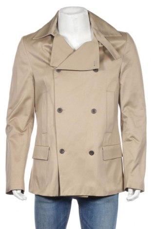 Pánský přechodný kabát  Dondup, Rozměr L, Barva Béžová, Bavlna, Cena  3759,00Kč