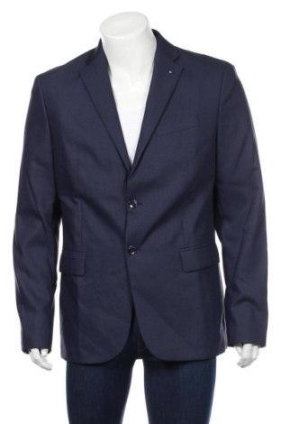 Pánske sako  Mango, Veľkosť XL, Farba Modrá, 78% polyester, 20% viskóza, 2% elastan, Cena  30,43€