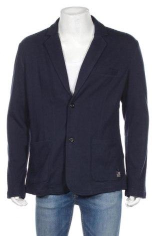 Мъжко сако Tom Tailor, Размер L, Цвят Син, 100% памук, Цена 24,92лв.