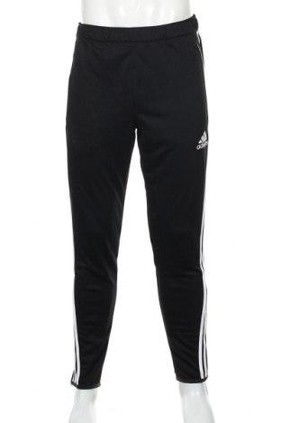 Ανδρικό αθλητικό παντελόνι Adidas, Μέγεθος M, Χρώμα Μαύρο, Πολυεστέρας, Τιμή 52,19€