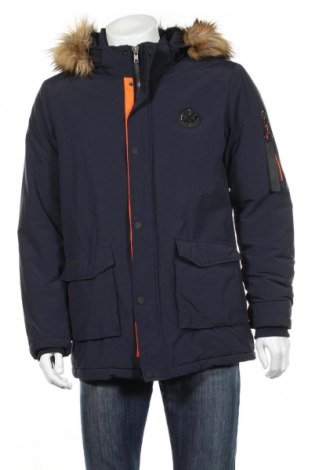 Мъжко яке Cars Jeans, Размер M, Цвят Син, 65% памук, 35% полиамид, Цена 69,96лв.