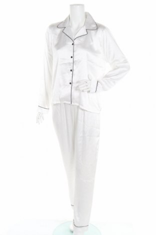 Πιτζάμες Boohoo, Μέγεθος L, Χρώμα Λευκό, Πολυεστέρας, Τιμή 17,81€
