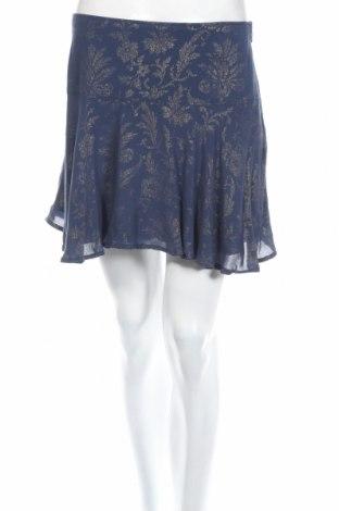 Пола Abercrombie & Fitch, Размер M, Цвят Син, 100% вискоза, Цена 11,38лв.