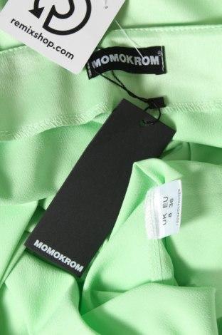 Пола Momokrom, Размер S, Цвят Зелен, Полиестер, Цена 7,92лв.
