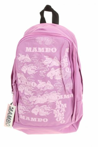 Раница Mambo, Цвят Розов, Текстил, Цена 23,31лв.