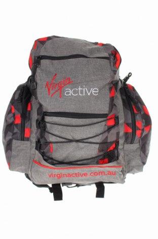 Раница Virgin Active, Цвят Сив, Текстил, Цена 22,68лв.