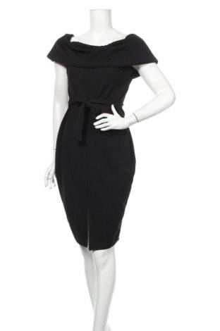 Sukienka Boohoo, Rozmiar XL, Kolor Czarny, 95% poliester, 5% elastyna, Cena 94,25zł