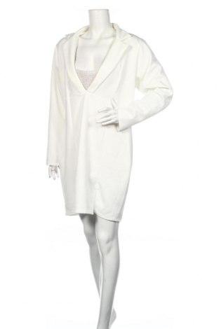 Sukienka Boohoo, Rozmiar XXL, Kolor Biały, 95% poliester, 5% elastyna, Cena 93,00zł