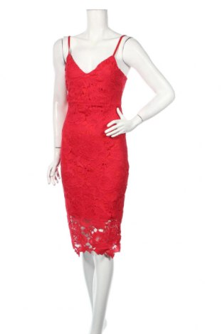 Sukienka Boohoo, Rozmiar S, Kolor Czerwony, Poliester, Cena 129,38zł