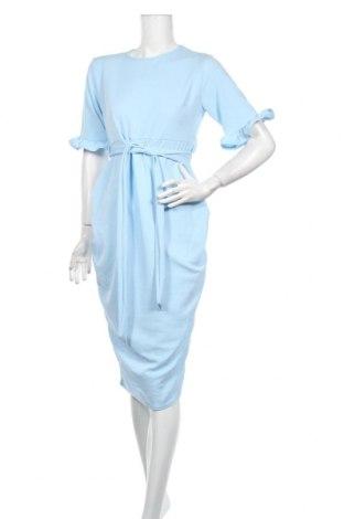 Šaty  Boohoo, Veľkosť M, Farba Modrá, 95% polyester, 5% elastan, Cena  28,87€