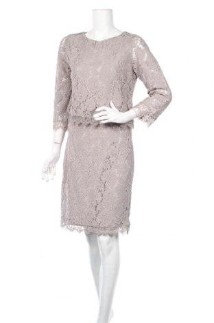 Φόρεμα Dry Lake., Μέγεθος L, Χρώμα Γκρί, 60% βαμβάκι, 40% πολυαμίδη, Τιμή 33,09€