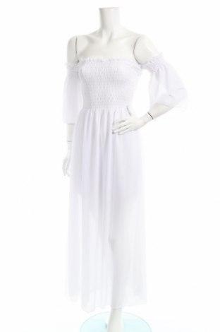 Sukienka Made In Italy, Rozmiar S, Kolor Biały, Poliester, Cena 57,00zł