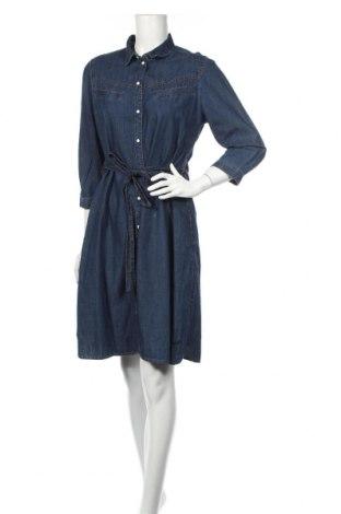 Φόρεμα Q/S by S.Oliver, Μέγεθος L, Χρώμα Μπλέ, 100% βαμβάκι, Τιμή 40,31€