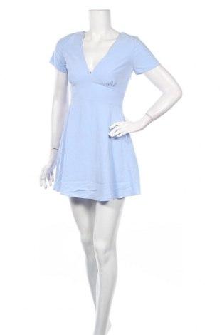 Рокля Zara, Размер M, Цвят Син, 73% модал, 27% полиестер, Цена 24,80лв.