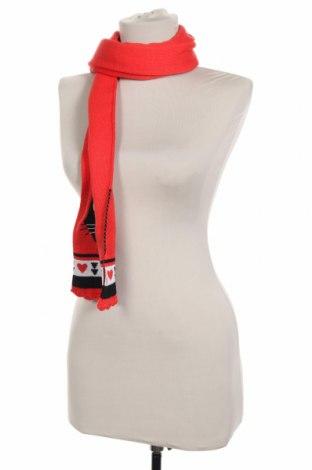 Κασκόλ Tuc Tuc, Χρώμα Κόκκινο, 60% βαμβάκι, 40%ακρυλικό, Τιμή 9,38€