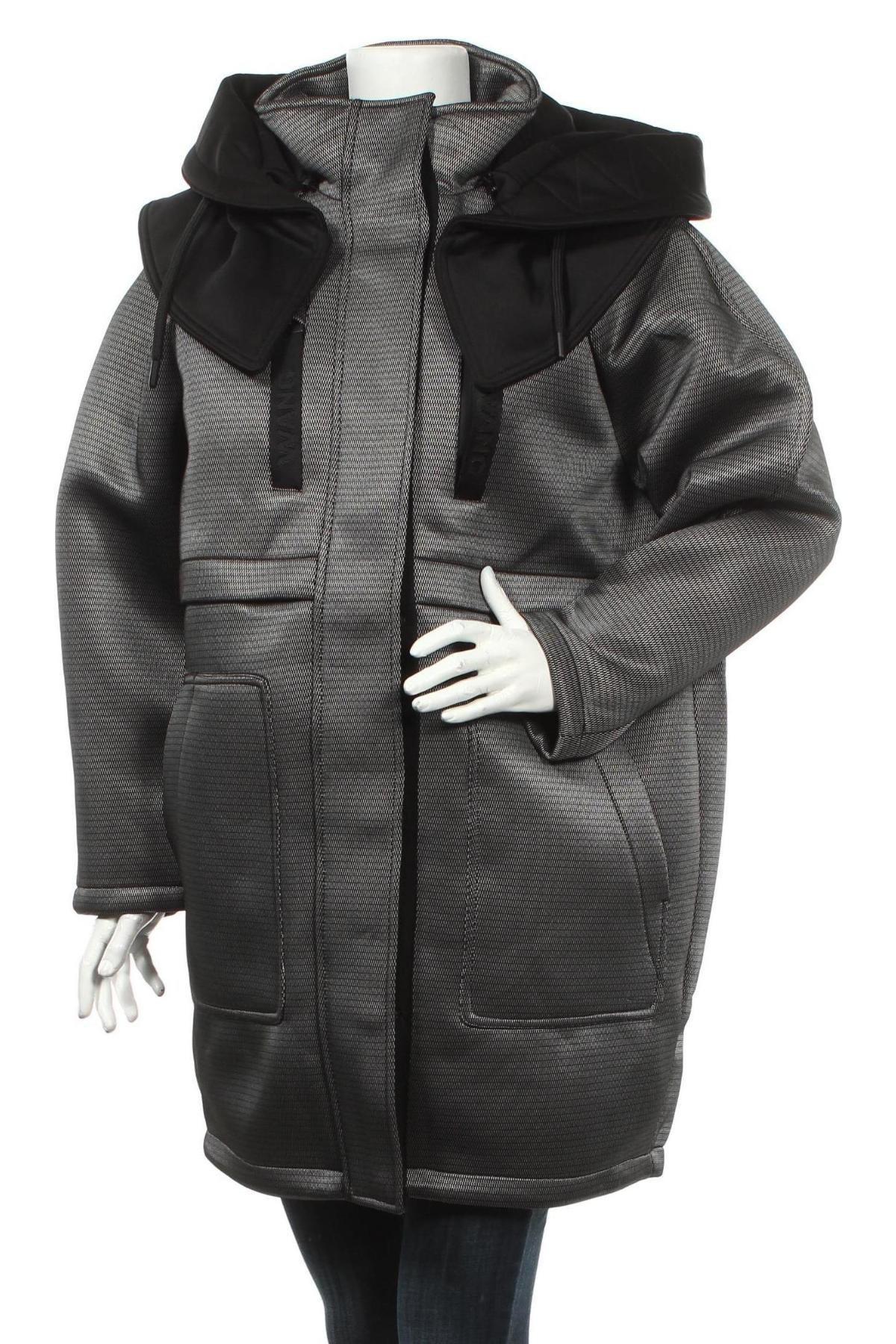 Дамско яке Alexander Wang For H&M, Размер M, Цвят Бял, Полиамид, пух и пера, Цена 336,75лв.