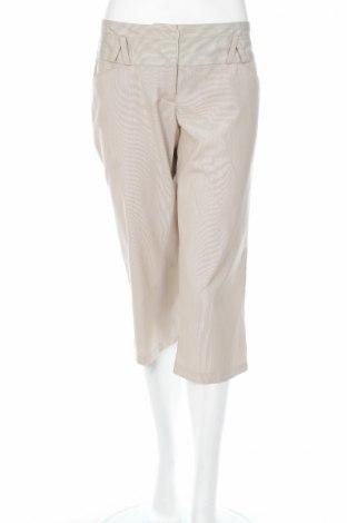Дамски панталон, Размер M, Цвят Бежов, 75% полиестер, 23% вискоза, 2% еластан, Цена 6,48лв.