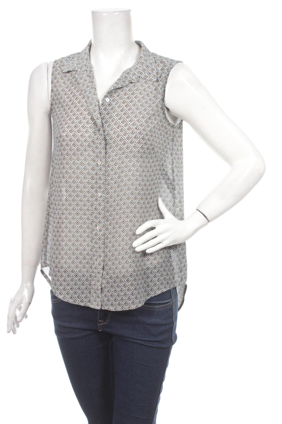 Дамска риза H&M, Размер XS, Цвят Многоцветен, Полиестер, Цена 4,25лв.