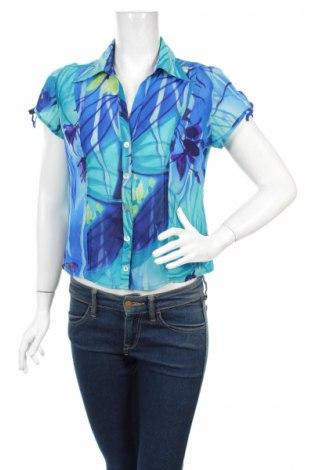 Дамска риза, Размер M, Цвят Многоцветен, Полиестер, Цена 7,15лв.