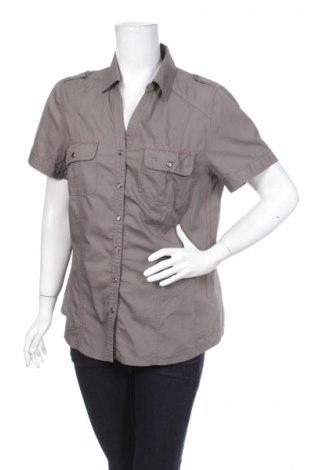 Дамска риза Anne L., Размер L, Цвят Сив, 100% памук, Цена 3,04лв.