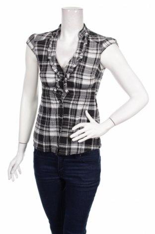 Дамска риза Clockhouse, Размер XS, Цвят Сив, Цена 4,50лв.