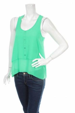 Γυναικείο αμάνικο μπλουζάκι H&M Divided, Μέγεθος S, Χρώμα Πράσινο, Πολυεστέρας, Τιμή 2,71€