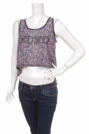 Γυναικείο αμάνικο μπλουζάκι Vert De Rage, Μέγεθος M, Χρώμα Πολύχρωμο, Πολυεστέρας, Τιμή 1,59€