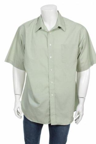 Pánska košeľa  Puritan, Veľkosť XL, Farba Zelená, 55% bavlna, 45% polyester, Cena  2,27€
