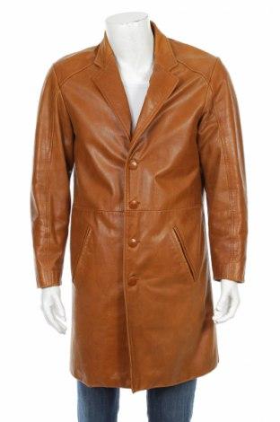 Мъжки кожен шлифер