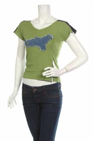 Γυναικεία μπλούζα Cherokee, Μέγεθος M, Χρώμα Πράσινο, Βαμβάκι, Τιμή 3,74€