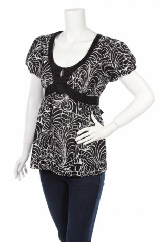 Дамска блуза Elle, Размер S, Цвят Черен, 100% памук, Цена 4,50лв.