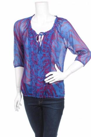 Дамска блуза Express, Размер S, Цвят Син, Полиестер, Цена 3,00лв.