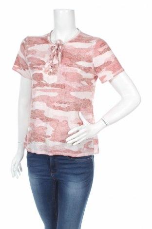 Дамска блуза Lucky Brand, Размер S, Цвят Многоцветен, 65% полиестер, 35% памук, Цена 4,00лв.