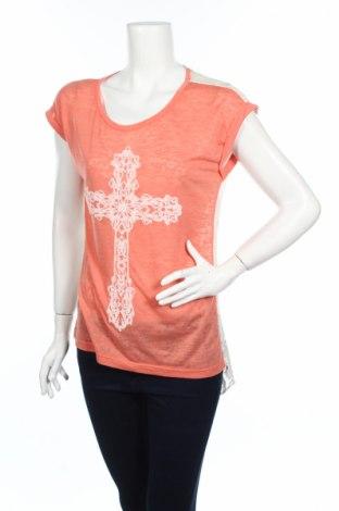 Γυναικεία μπλούζα Trendy, Μέγεθος S, Χρώμα Ρόζ , 95% βισκόζη, 5% ελαστάνη, Τιμή 3,40€