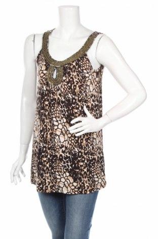 Дамска блуза Vivien Caron, Размер M, Цвят Многоцветен, 95% вискоза, 5% еластан, Цена 5,95лв.