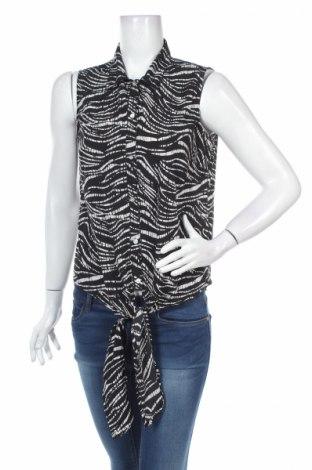 Дамска риза Chicoree, Размер M, Цвят Черен, 100% полиестер, Цена 4,50лв.