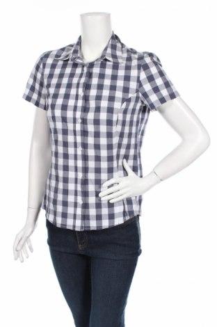 Дамска риза Crane, Размер M, Цвят Син, 50% полиестер, 30% вискоза, 20% памук, Цена 4,25лв.