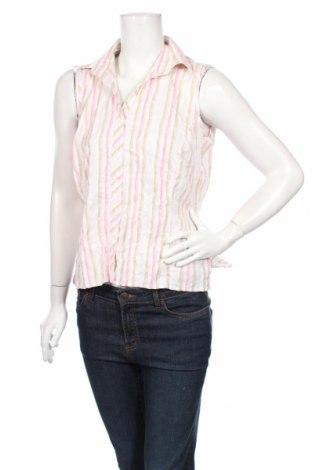 Дамска риза Giorgio, Размер L, Цвят Многоцветен, 47% памук, 30% полиамид, 19% вискоза, 4% еластан, Цена 6,75лв.