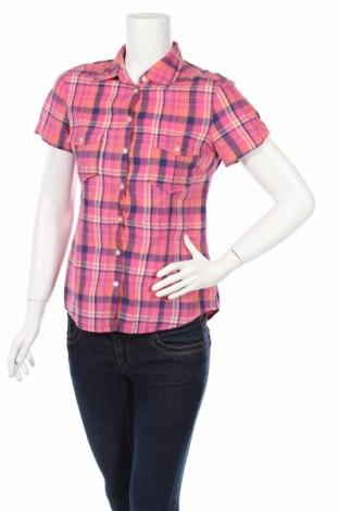 Дамска риза H&M L.o.g.g, Размер S, Цвят Многоцветен, Памук, Цена 4,50лв.