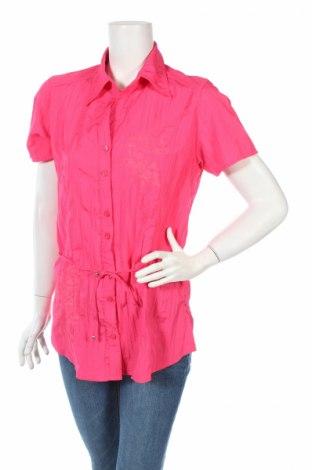 Γυναικείο πουκάμισο Just For You, Μέγεθος L, Χρώμα Ρόζ , Πολυεστέρας, Τιμή 4,48€